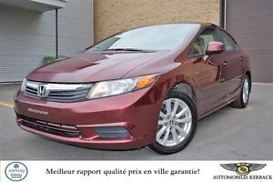 2012 Honda Berline Civic EX TOIT/MAGS/BLUETOOTH $49/SEMAINE