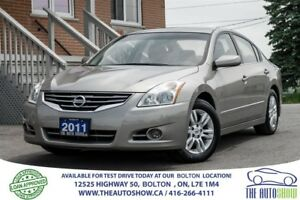2011 Nissan Altima 2.5 Sunroof Alloys 1 owner Mint Certified