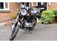 Yamaha YBR125 2011 Motorbike - Low mileage, long MOT