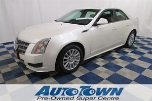 2011 Cadillac CTS 3.0L - LOCAL - SUPER LOW KMS - PANOROOF - BOSE