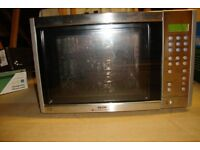 Microwave Oven with Fan Oven and Grill