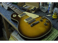 Vintage Satellite Les Paul, 1970/80s Korean made, full refurb.
