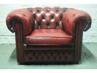 chesterfield club chair (DELIVERY AVAILABLE)