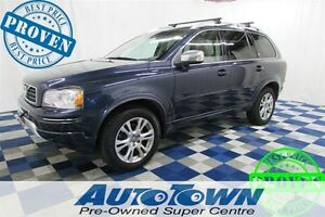 2013 Volvo XC90 3.2 AWD/ 7 PSG/ HTD STS/ LTHR/ PWR SUNROOF