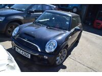2006 MINI COOPER S 1.6 PETROL MANUAL BREAKING