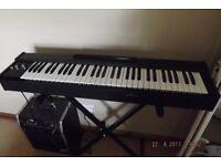 Piano Organ +Amp+stand