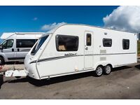Abbey Vogue 2 610, 2009, 4 Berth, Tag axle, Fixed island Bed