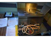 LPG GAS TABLE TOP FRYER LINCAT - slightly used