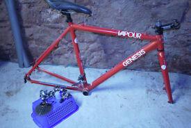 Genesis Cyclo Cross Frame + bits