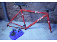 Genesis Cyclo Cross Frame + bits