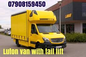 🛑🛑(No Milleage Charge)🛑🛑Man & Luton Van Tail-Lift Removals//Short Notice/All London/Outside