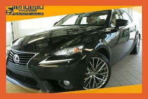 2014 Lexus IS 250 AWD + TOIT + CUIR