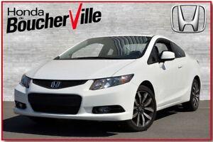 2013 Honda Civic EX-L Cuir et Navigation Jamais accidenté