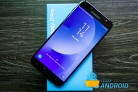 Samsung galaxy J7 pro Brand new with warranty and accessories unlocked!