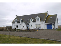 3 bed self contained flat in the upper floor of a detached house to rent in Lybster, Caithness