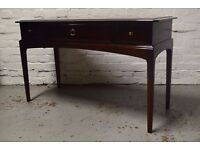 stag minstrel console table/dressing table (DELIVERY AVAILABLE)