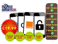 Apple iPhone Samsung Sony All Brand Unlocking Service UK & International Networks Fast Service