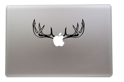 Deer Antlers Vinyl Decal Sticker For MacBook Air Pro Mac 11
