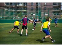 Looking for extra players to join our casual football games in Vauxhall