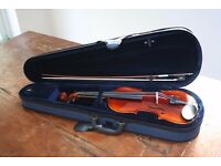 Almost new Violin with case
