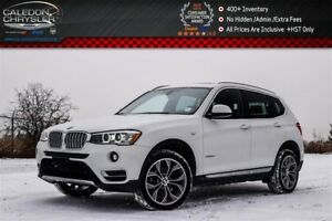 2015 BMW X3 xDrive28d|Diesel|Pano Sunroof|Backup Cam|Bluetooth