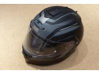Crash Helmet HJC IS-MAX 2 Matt Black & Grey - Large + HJC Visor Pinlock Antifog Insert