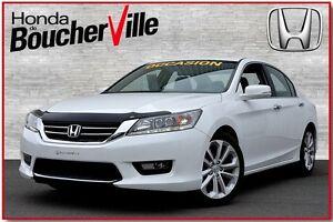 2014 Honda Accord Touring, impécable, jamais accidenté cuir GPS