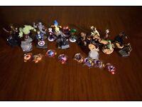 Disney Infinity Figures Collection