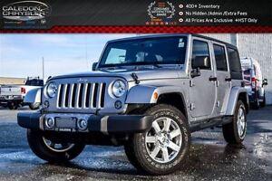 2016 Jeep WRANGLER UNLIMITED Sahara|4x4|Dual Top|Navi|Bluetooth|