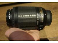 Nikon 55 - 200m camera lens