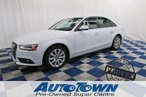 2013 Audi A4 2.0T AWD/HTD SEATS/PWR SUN ROOF/LTHR/TURBO