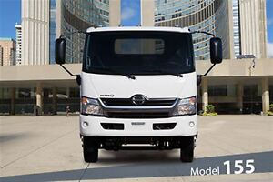 2017 Hino 155 Class 4 - GVW of 14,500 lbs / 6,580 kg