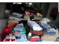 Bags of women's clothing (Taken now)