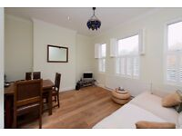 Drayton Park N5: 2 double bedrooms / separate kitchen / period conversion / part-furnished
