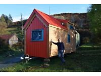 WANTED: Land near Machynlleth for our tiny house!