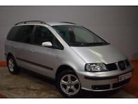 SEAT ALHAMBRA 2.0 REFERENCE TDI 5d 139 BHP (silver) 2007