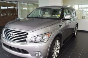 2014 Infiniti QX80 7-Passenger No Accidents, Local Vehicle!