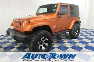 2011 Jeep Wrangler Sahara 4x4/NO ACCIDENTS/HTD SEATS/TOUCH SCREE