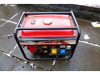 *** Great working Generator 230v and 110v. Petrol . ***