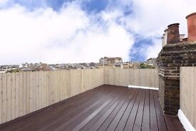 Fabulous 2 bed / 2 bath flat with decked roof terrace - Clapham Junction - perfect for sharers