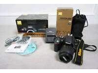 Nikon D3300 + Nikkor 55-200mm f/4-5.6 G zoom lens + Accessories