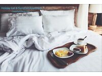 Serviced Apartment & Holiday Let : Cleaning/ Change over - One off, Regular & Mini Deep cleans