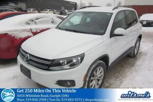 2017 Volkswagen Tiguan WOLFSBURG EDITION! AWD LEATHER! REAR CAME