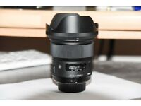 sigma 24mm lens