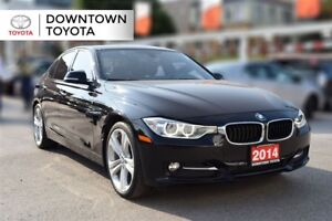 2014 BMW 328d AWD, DIESEL, NAVIGATOIN, SUNROOF, LEATHER