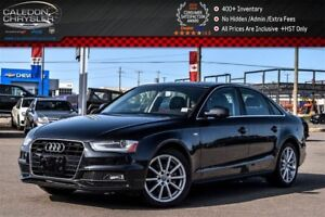 2016 Audi A4 Progressiv plus|Quattro|Nav|Sunroof|Leather|Backup