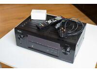 Denon AVR-X2000 Home Cinema 7.1 HD 3D 4k AV Network Amplifier
