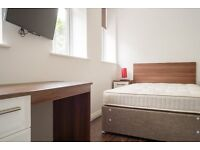 Available now- Double room with private bathroom- Liverpool 3 city centre- Highfield St- Bills Inc