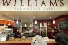 Head Chef and all round people person required to lead a small team in our supermarket cafe