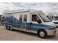 Hobby 750 3 Berth Motorhome For Sale